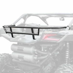HMF Black Aluminum Rear Cargo Rack Can-Am Maverick X3 Turbo MAX XDS XRS