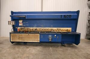 Used Hydraulic Guillotine shear 12' ft x 58