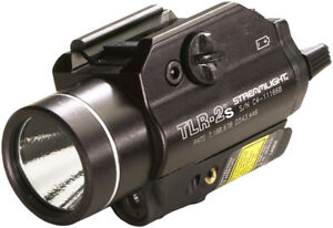 Streamlight 69230 Black Tactical TLR-2S Flashlight Strobe Laser Light