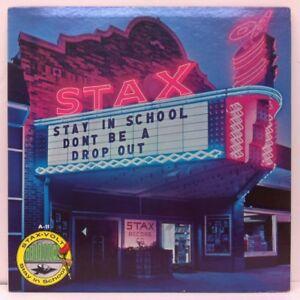 STAY IN SCHOOL DON'T BE A DROP OUT Stax 1967 LP OTIS REDDING BOOKER T