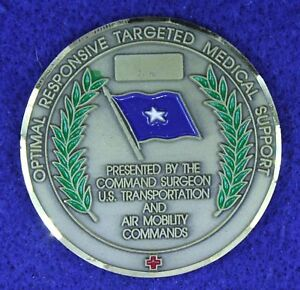 USAF General Command Surgeon US Transportation AMC Challenge Coin O-17