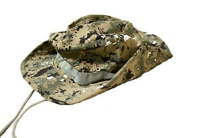 Outdoor Boonie Style Sun Hat for Fishing and Hiking Green Digital Camo