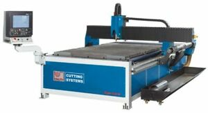 Hypertherm CNC Plasma Cutting system 5x10 rotary tube attachment pipe cutter NEW