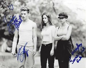 I KNOW WHAT YOU DID LAST SUMMER cast autographed 8X10 photo GOLDENAGE ESSENTIALS