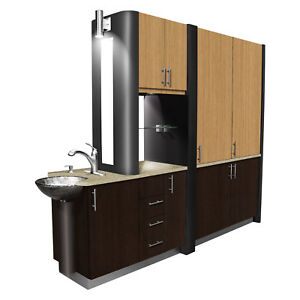 Valencia - Signature Series Center Island Cabinet Luxury Complete - Choose Color