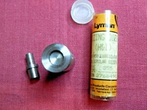 NEW---Lyman H&I .355 lube sizing die with RN top punch (9mm)