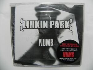 Linkin Park - Numb Rare Korea 3 Track Single CD  SEALED NEW