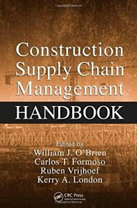 Construction Supply Chain Management Handbook Hardback Book The Fast Free