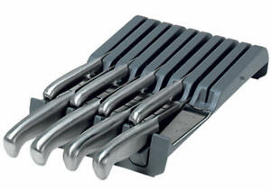 Blum ZSZ.02M0 ORGA-LINE 9 Knife Holder Drawer Insert with Removable Handle Suppo