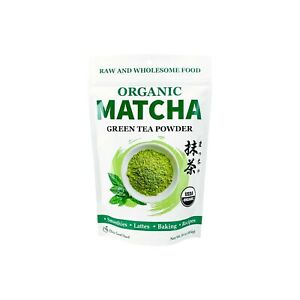 USDA Certified Organic Matcha Green Tea Powder 1 LB Bag
