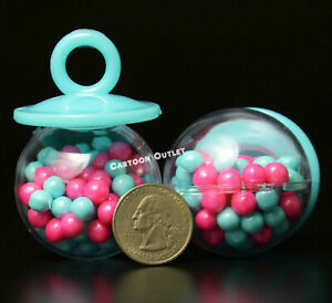 12 BABY SHOWER GENDER REVEAL PARTY FAVORS PACIFIER FILLABLE CANDY CONTAINER BLUE