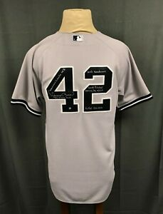 Mariano Rivera Signed 2012 Game Used LAST OPENING DAY Jersey Inscribed STEINER