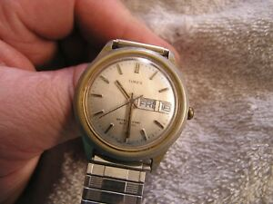 Vintage Timex Watch Automatic Day Date