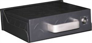 Smittybilt Portable Secure Lock Box With Mounting Sleeve lack Universal S/B2746