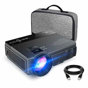 Mini Projector VANKYO 2400 Lux 40000 Hours Projector with TV Stick PS4 HDMI