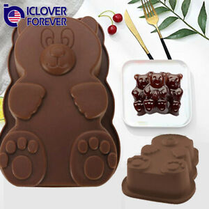 Half Sphere Ball Silicone Pudding Chocolate Mold Cake Decor 3D Muffin Baking Pan