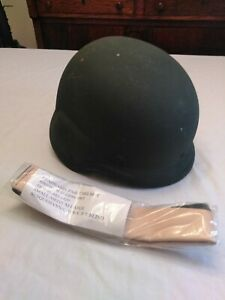 PAGST Military Helmet M-3 Unicore And PASGT Headband