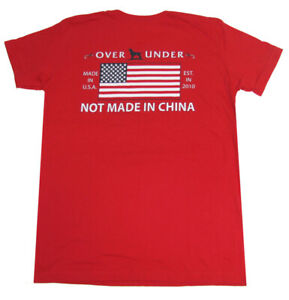 Over Under Youth Made In The USA T Shirt $23.98
