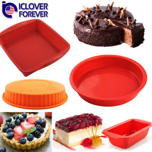 Bread Mold Silicone Loaf Pan Cake Toast Nonstick Lasagna Mould Home Made Baking