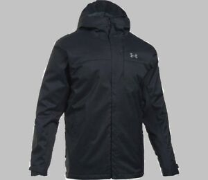 Under Armour Mens Winter  3 in 1 Insulated Hooded Waterproof  Jacket Coat M L