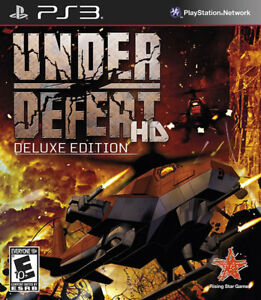 Under Defeat HD Deluxe PS3 New PlayStation 3 Playstation 3