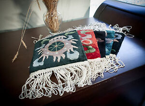 RRA Chinese All Silk Mat Set of 5 Stocking Stuffers Holiday Presents Gifts $89.00