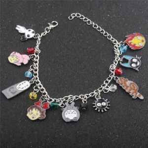 Studio Ghibli My Neighbor Totoro Spirited Away Castle In The Sky Metal Bracelet