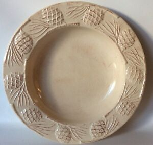 Target Home Holiday Pinecone Large Serving Bowl 12 1/4