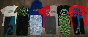 Lot 13 Boy's UNDER ARMOUR Jordan NIKE Dri-Fit T-Shirts Shorts YMD Medium 1012