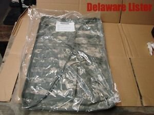 *US Military Issue ACU Army Digital Truck Vehicle MOLLE Seat Panel wPouch (New)