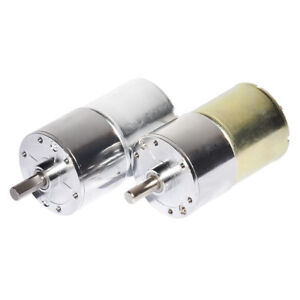 Suitable for DIY hobby toy small gearbox motor DC 12V 24V Dia 37mm 5 500rpm $17.89