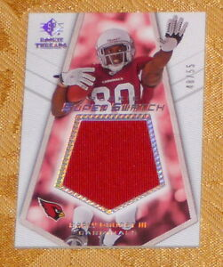 EARLY DOUCETT Cardinals 2008 UD SP Rookie Threads Super Swatch #48 55 Jersey RC