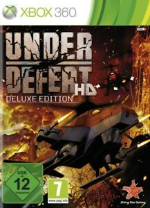 Microsoft Xbox 360 game - Under Defeat HD #Deluxe Edition boxed