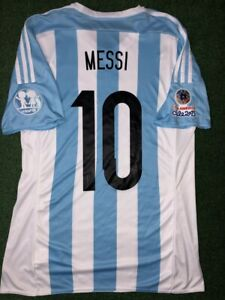 MESSI ARGENTINA MATCH UN WORN SHIRT FINAL COPA AMERICA 2015