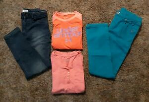 Mixed Lot Girl's Clothing Under Armour, Gymboree, Circo, Cherokee, Jeans Tops, 6 $28.00