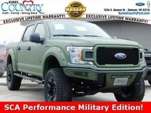 2019 Ford F-150 SCA Performance Military Edition 2019 Ford F-150 SCA Performance Military Edition Black 4D SuperCrew 5.0L V8 Ti-V
