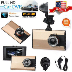 HD 1080P Car DVR Vehicle Camera Video Recorder Dash Cam Night Vision 3.0 inch