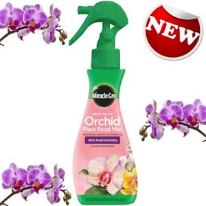 Miracle Gro Ready To Use Orchid Plant Food Mist 8 fl oz Indoor Plant Food