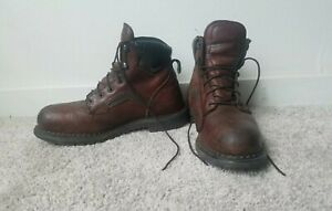 Red Wing 926 EH Brown Leather Dynaforce Work Boots Size 10.5