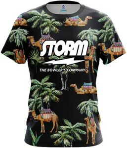 Storm Tropical Camel CoolWick Bowling Jersey