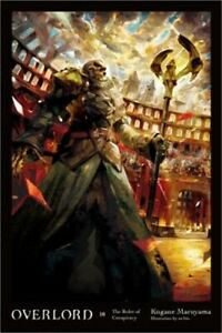 Overlord Vol. 10 Light Novel : The Ruler of Conspiracy Hardback or Cased Book $17.35