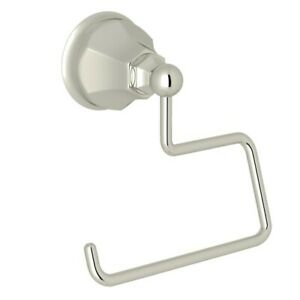 Rohl A6892PN Palladian Wall Mounted Single Post Toilet Paper Holder