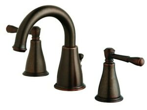 Danze D304115 Tumbled Bronze Widespread Bathroom Faucet (Eastham Collection)