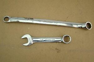 (2) Snap-On Combination Wrenches (7/16