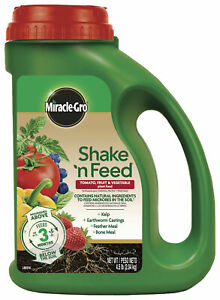 Miracle-Gro Shake 'N Feed Tomato, Fruit and Vegetable Plant Food 4.5lb