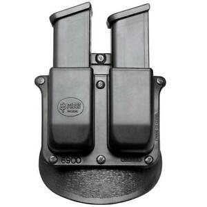 Fobus 6945HP USP 45 Springfield XD45 Paddle Double Magazine Pouch Kydex Black