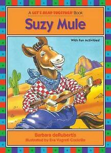 Suzy Mule by Barbara deRubertis (English) Paperback Book Free Shipping!