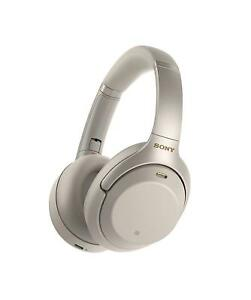 Sony WH-1000XM3S Over Ear Headphones Noise Cancelling (WH1000XM3) (Silver) ***