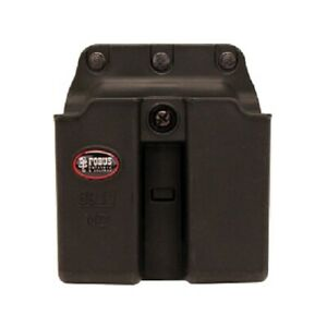 Fobus 6911NDBH Double 9mm/.40 Single Stack Magazine Black Belt Pouch