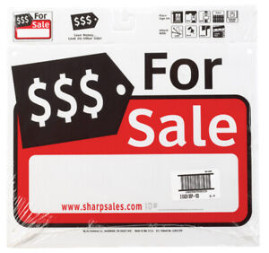 Hy-Ko  English  12 in. H x 13 in. W Sign  Plastic  For Sale